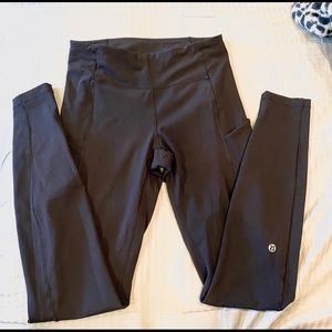 "Lululemon athletica speed up tights 31"" black"